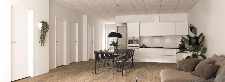 stue:køkken